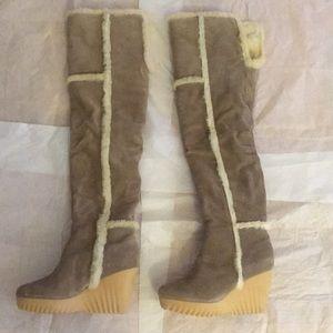 New Diane Von Furstenberg OTK Heidi boots